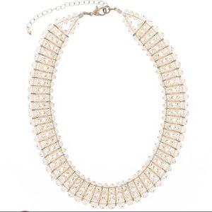 Beaded adjustable choker necklace dressy
